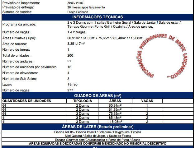 SANTO ANDRE – LANÇAMENTO 2 ou 3 dorm vg determinada | Corretor de Imóveis Galiardi creci 91613