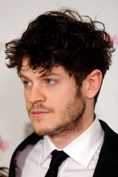 Iwan Rheon I don't know who he is, but I love his hair and eyes...