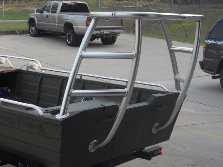 Poling Platform On Aluminum Boat Boat Ideas Pinterest