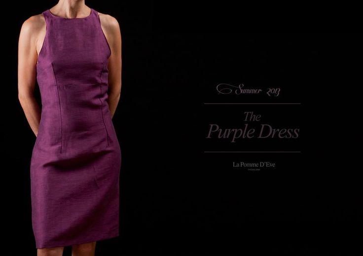 Purple Dress Summer 2013 La Pomme D'Eve.