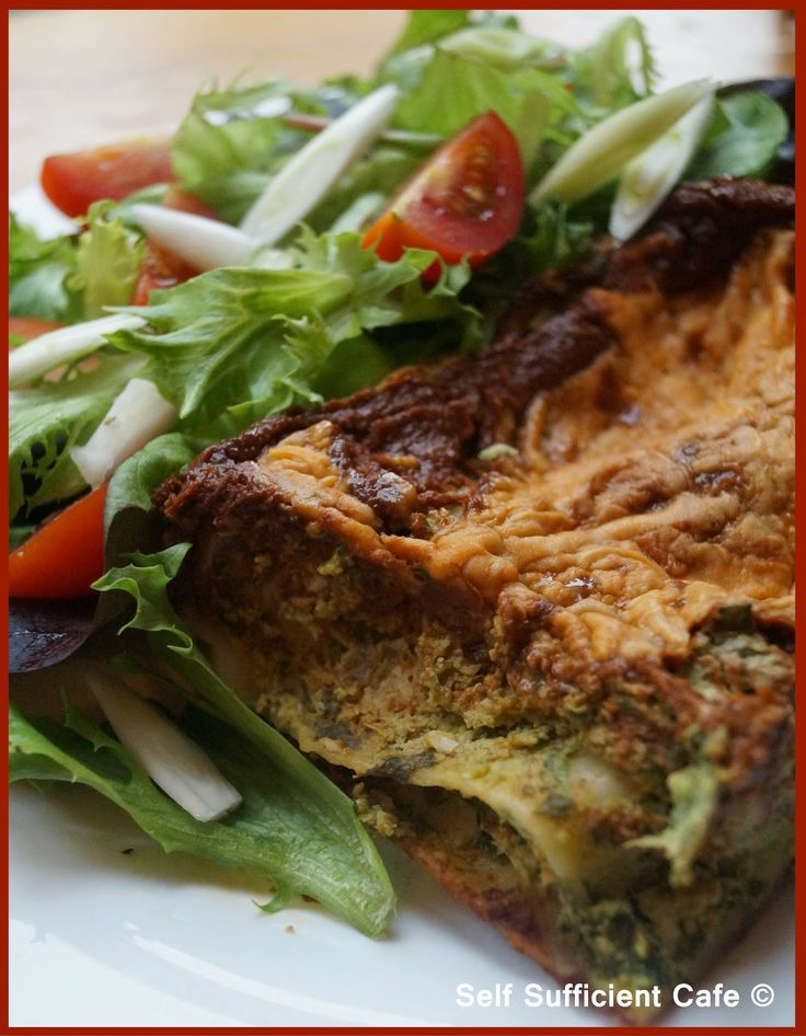 Self Sufficient Cafe: Vegan Lasagne