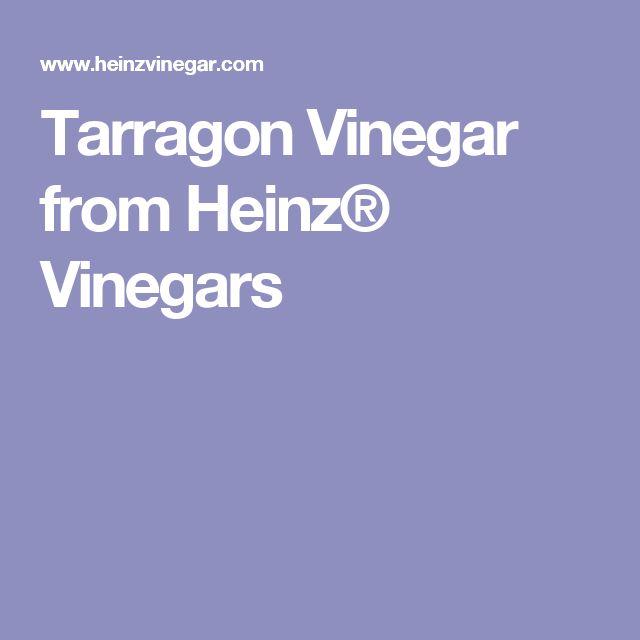 Tarragon Vinegar from Heinz® Vinegars