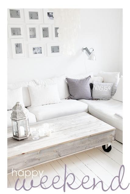white on white frames from Ikea!