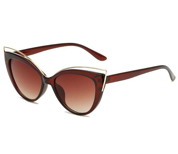 Womens Polarized Sunglasses Cat Eye Protection Against UVA/UVB Rays Gift for Her #GiftforHer #CatEye