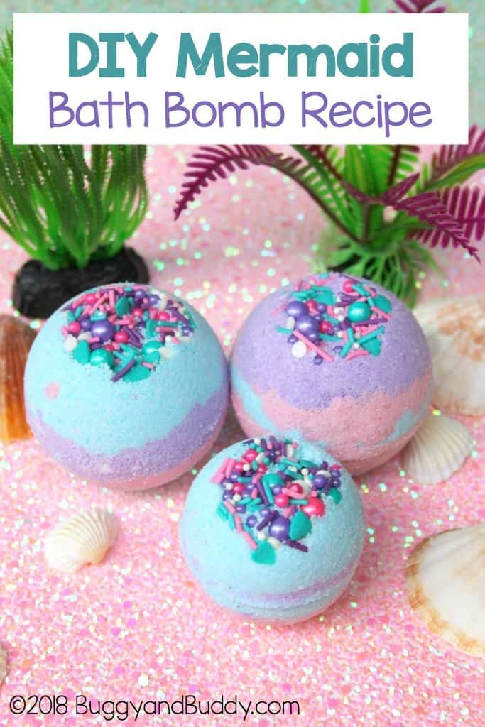 Diy Mermaid Bath Bombs With Coconut Oil Mermaid Diy Mermaid