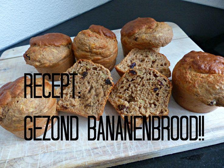 Gezonde Bananencake / Bananenbrood!