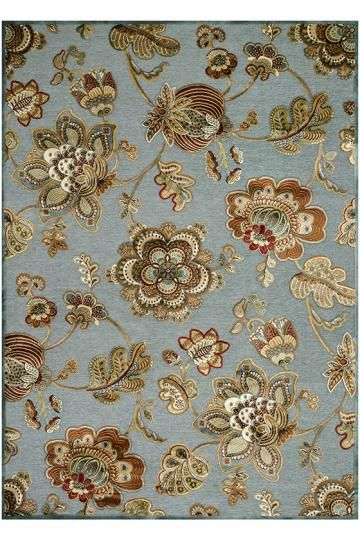 Chantey Area Rug - Transitional Rugs - Floral Rugs - Machine-made Rugs - Wilton-woven Rugs - Synthetic Rugs | HomeDecorators.com