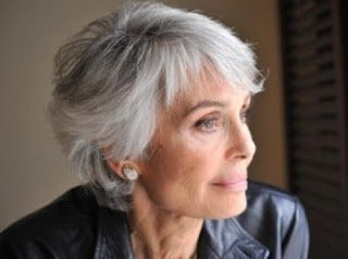 short hair styles for women over 50 gray hair | Grey hair styles by TomiSchlusz
