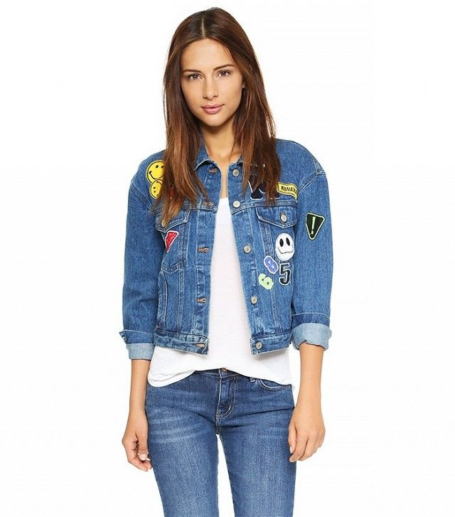 Re:Named Patch Denim Jacket