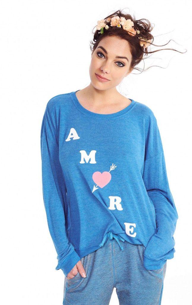 Wildfox Amore Oversized Sweater #Wildfox