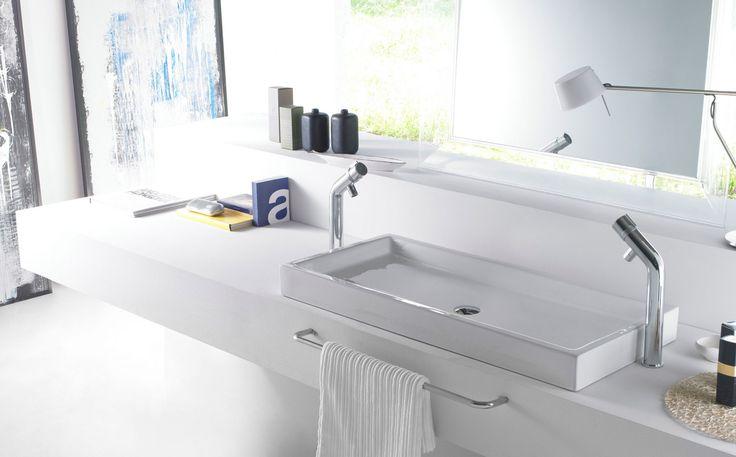 Mejores 53 im genes de lavabos de porcelana rectangular en for Lavabo rectangular