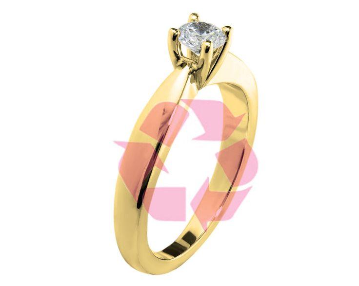 Saviez-vous qu'il est possible de recycler vos bijoux en or pour en faire un nouveau design? L'or est une matière qui se recycle à l'infini!