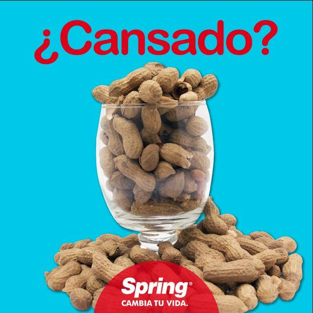 ¿Cansado? Come #maní, es una rica y saludable fuente de energía #comidasana #recargartedeactitud