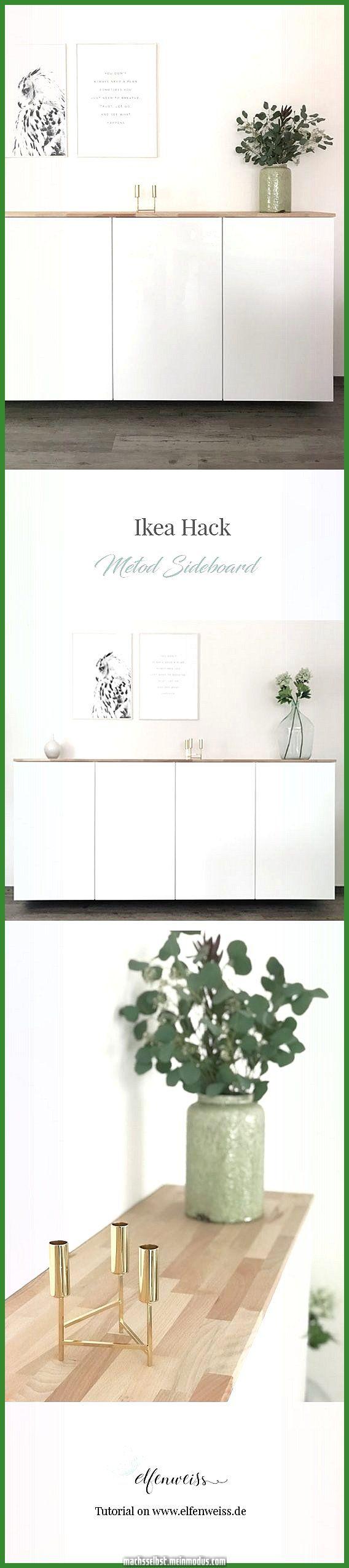 Ikea Hack - Metod Buffet Küchenschrank   Ikea diy, Ikea ...