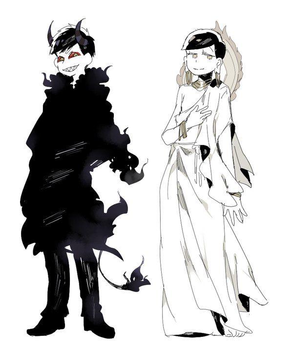 Osomatsu-san- Akumatsu and Kamimatsu #Anime「♡」