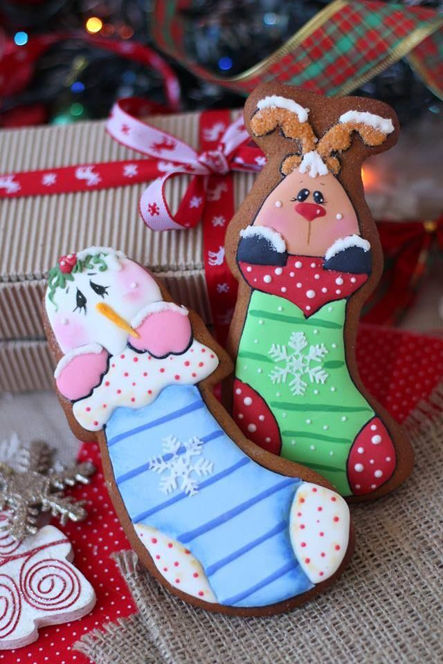 Пряники на День Св. Николая Пряники по мотивам игрушек Brenda Sattley