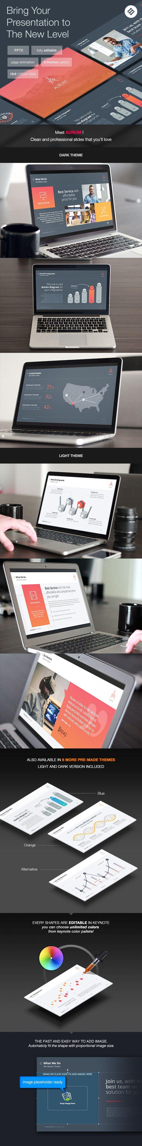 Aurum - Agency Powerpoint Template - PowerPoint Templates Presentation Templates