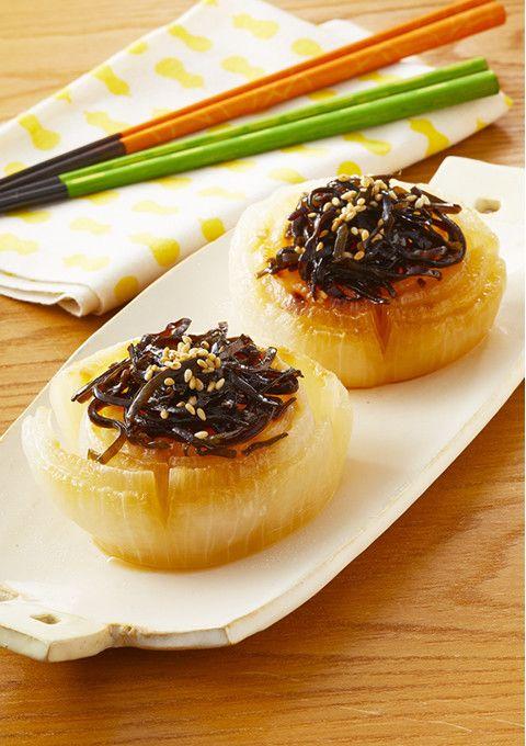 新玉ねぎの塩昆布レンジ蒸し by クリアアサヒ [クックパッド] 簡単おいしいみんなのレシピが264万品