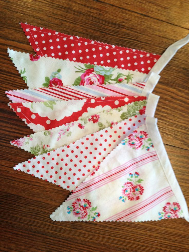 Shabby Chic Banner Red and Pink Banner Photo Prop by babydearest, $23.00