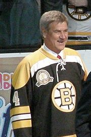 "Robert Gordon ""Bobby"" Orr, OC (born March 20, 1948) is a Canadian former professional ice hockey player. Orr played in the National Hockey League (NHL) for his entire career, the first ten seasons with the Boston Bruins, joining the Chicago Black Hawks for two more. Orr is widely acknowledged to be one of the greatest hockey players of all time."