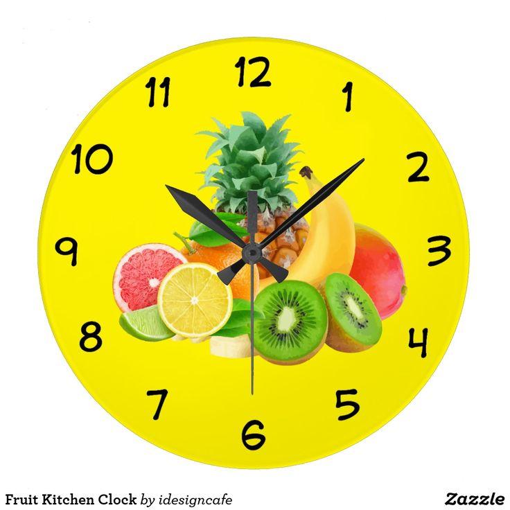 fabulous horloge de cuisine de fruit with pendules de cuisine originales. Black Bedroom Furniture Sets. Home Design Ideas