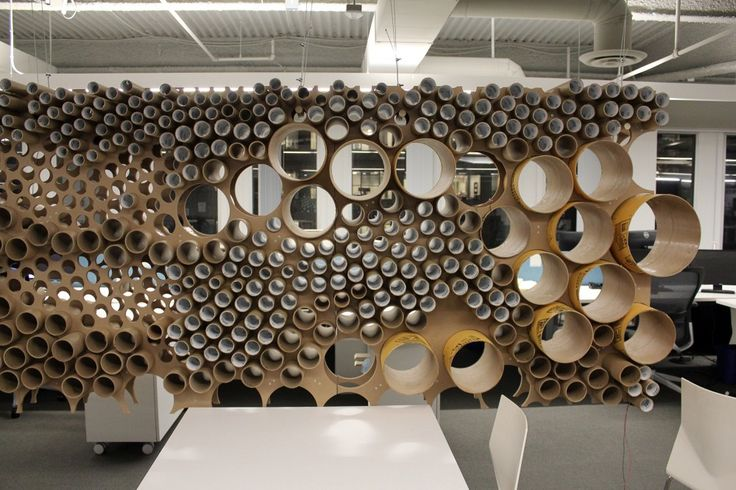 Recycling+In+Practice:+Perkins+++Will+Finds+New+Life+for+Cardboard+Tubes
