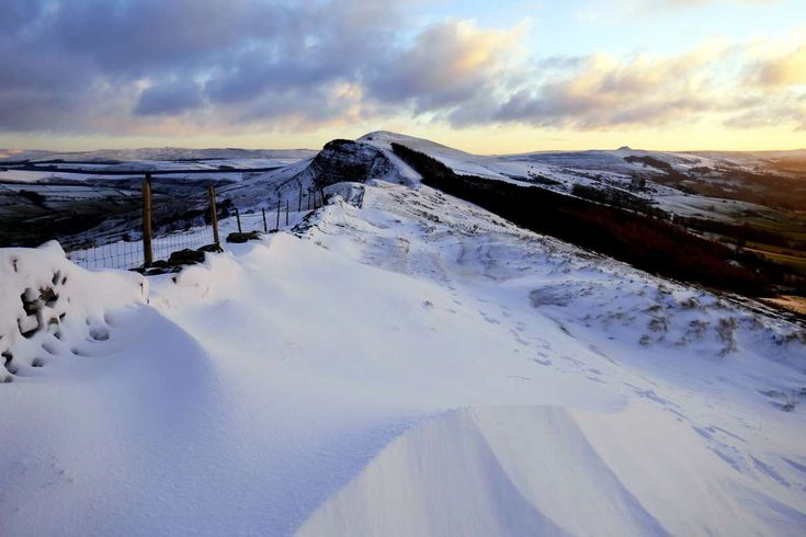 The Great Ridge, Derbyshire. - iStock