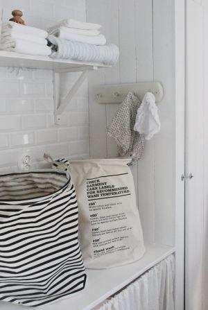 Laundry bag stripes - Laundry basket - House Doctor