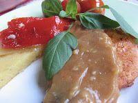 Limepippuri: Grillattua porsasta sinappi-aprikoosikastikkeella ja grillattua polentaa