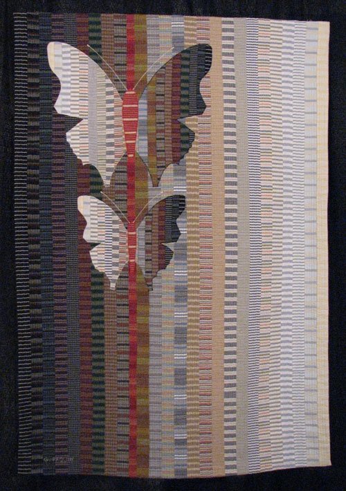 """""""Metamorphoses"""" by Gabriell Paquin beautiful work on this site -see """"current work"""" for some stunning quilts"""