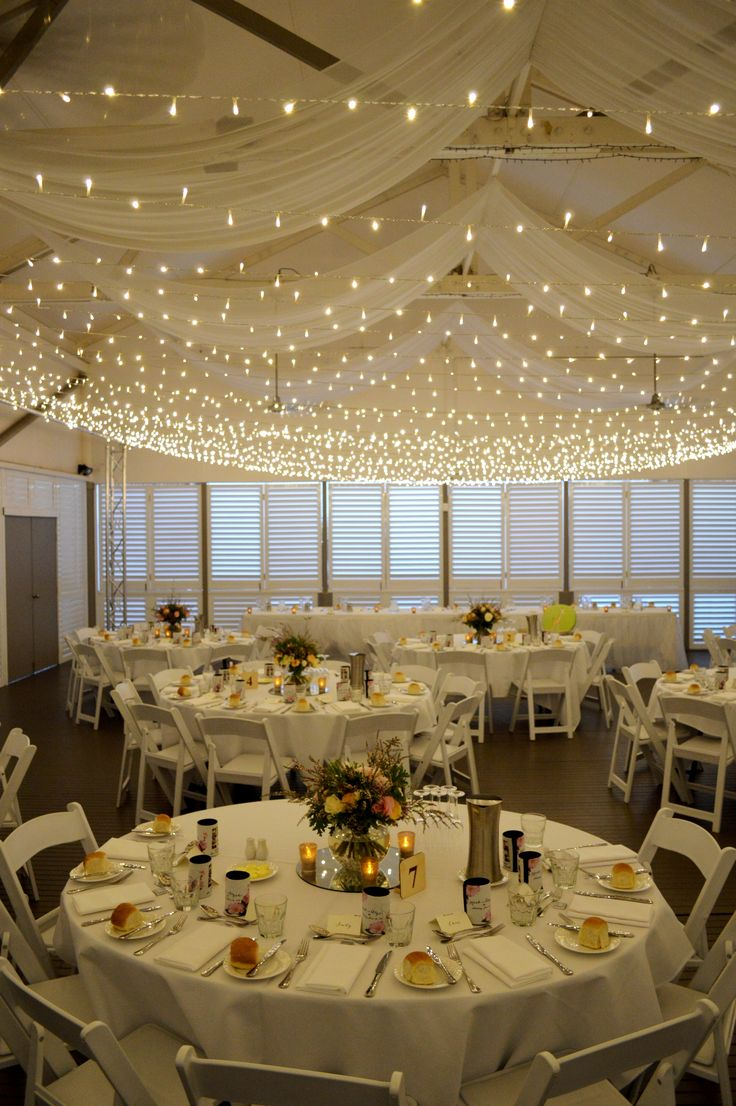 Mercure Townsville - Plantation Deck - Wedding Reception - Perfect - Rustic - Country - Fairy Lights - Flowers