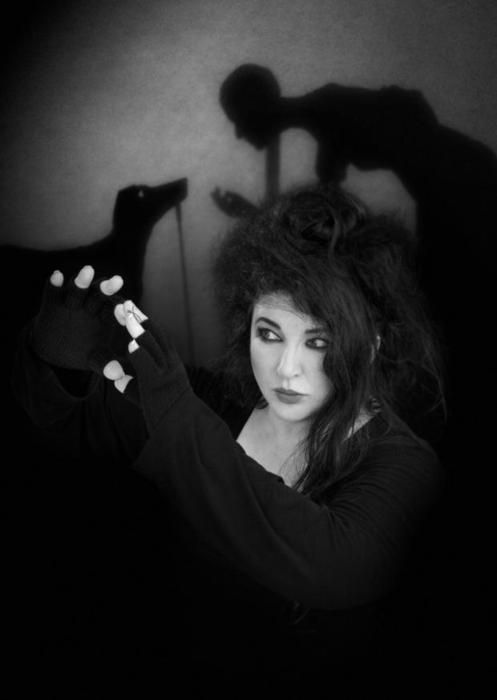 Kate Bush. Trying to find contemporary pics is difficult.