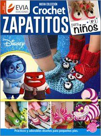 Crochet ZAPATITOS para NIÑOS Nº 01 - 2016