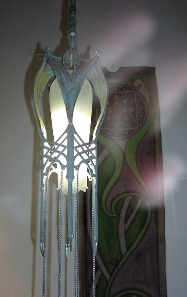 elven things lamp the lord of the rings home decor gothic furniture house. Black Bedroom Furniture Sets. Home Design Ideas