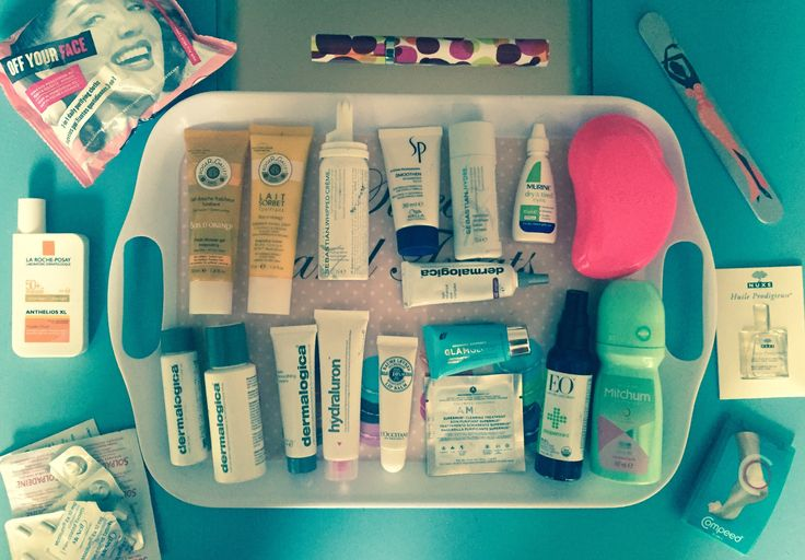 Which beauty products to bring in your carry on luggage  #weekendbreak #whattopack