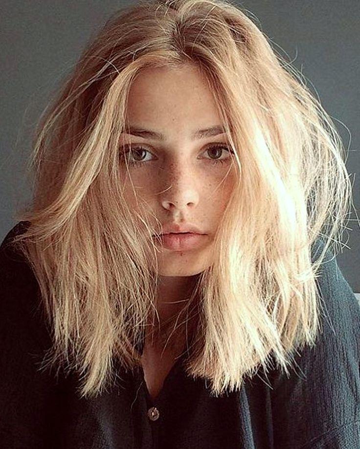 ♥️ Pinterest: DEBORAHPRAHA ♥️ messy short blunt hair cut #hairstyles