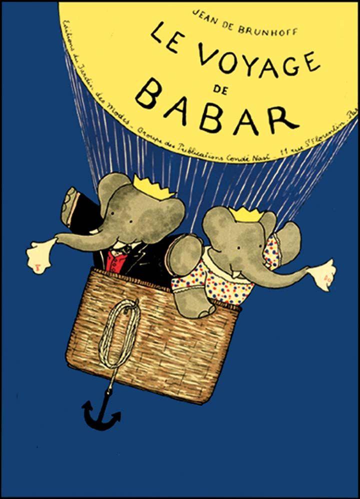 ~Le Voyage de Babar par Jean de Brunhoff