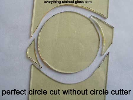 Cutting a circle with just basic tools. Very good video …