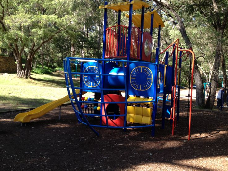 FREE! Beautiful playground at Rotary Park along the magnificent Margaret River with exercise stations, a great playground and beautiful nature walks. Great old train for kids to climb aboard too. Find things to do, wineries, breweries and more near your current location in Margaret River and get a map to take you there with the Kids Around Perth App available in the App Store and Google Play.