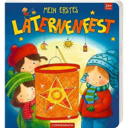 Ob Laternen-, Lichter-, oder Martinsfest – der Laternenumzug rings um den Martinstag gehört zu den Höhepunkten jedes Kindergartenjahres. Besonderes Pappbilderbu