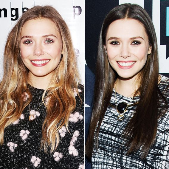 New Hair 2014: See Celebrity Hair Makeovers! - Elizabeth Olsen from #InStyle