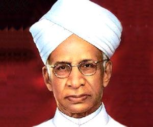 Radhakrishnan 1888 - 1975 Sarvepalli Radhakrishnan was an Indian philosopher and statesman who was the first Vice President of India and the second President of India, and one of India's most influential scholars of comparative religion and philosophy.  An influence to the modern Hindu.