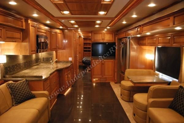 Luxurious Motorhomes Interior Aire 4314 Luxury