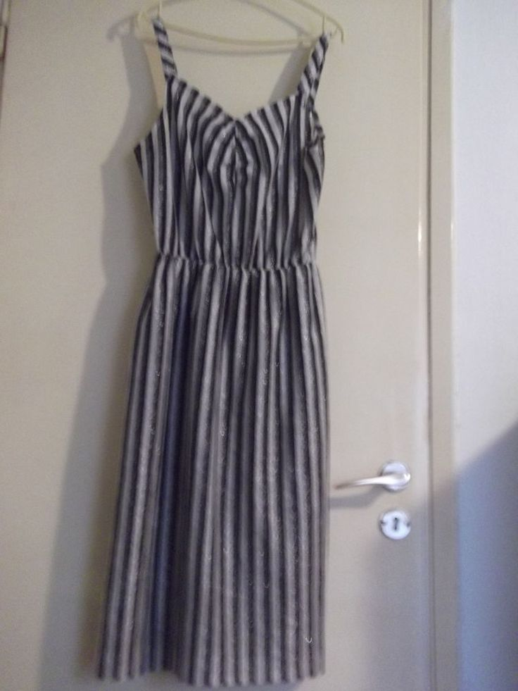 80s black and silver metallic dress #unknown