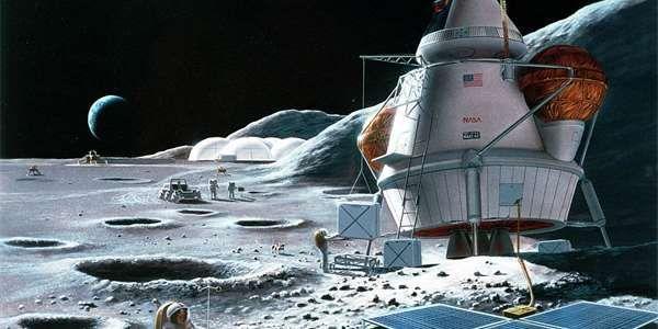 Kolonizace Měsíce: Zapomeňte na vesnici, podzemní základna bude lepší!