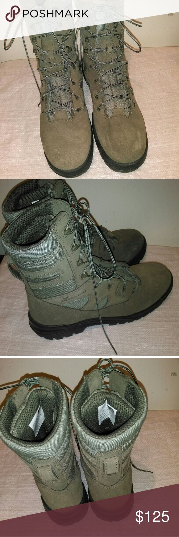 Men boots Military boots wellco Shoes Boots