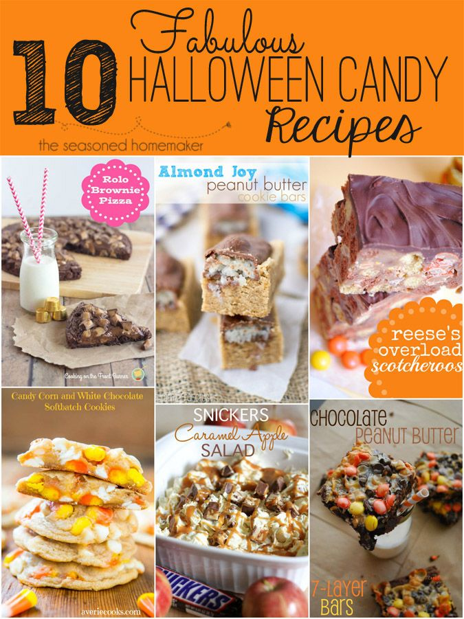 halloween candy recipes - Easy Halloween Candy Recipes