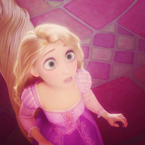 Rapunzel - That's how my daddy in law calls me lovingly. Imagine... A girl.. Lives her whole life inside her room, she just leaves for shopping and school. She never had friends because she could
