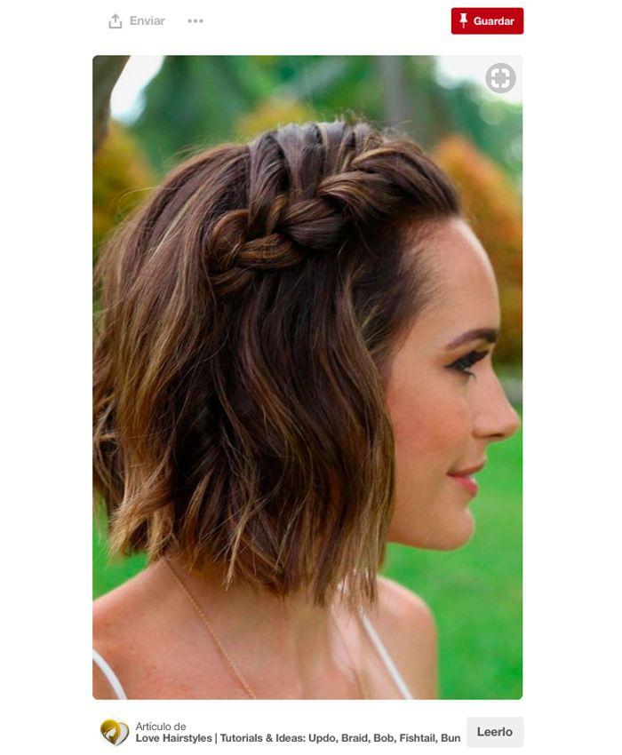 25 Peinados casuales cabello corto
