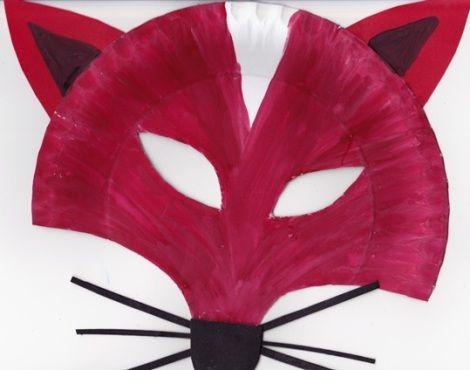 Készítsetek álarcokat papírtányérból! Sok-sok vidám állatos álarc-ötlet!